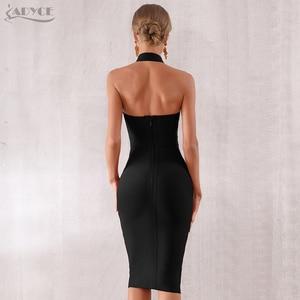 Image 3 - ADYCE 2020 ฤดูร้อนใหม่สตรีชุด Bodycon BANDAGE เซ็กซี่ Halter Strapless Lace Dresses Vestidos ชุดราตรีชุดราตรี