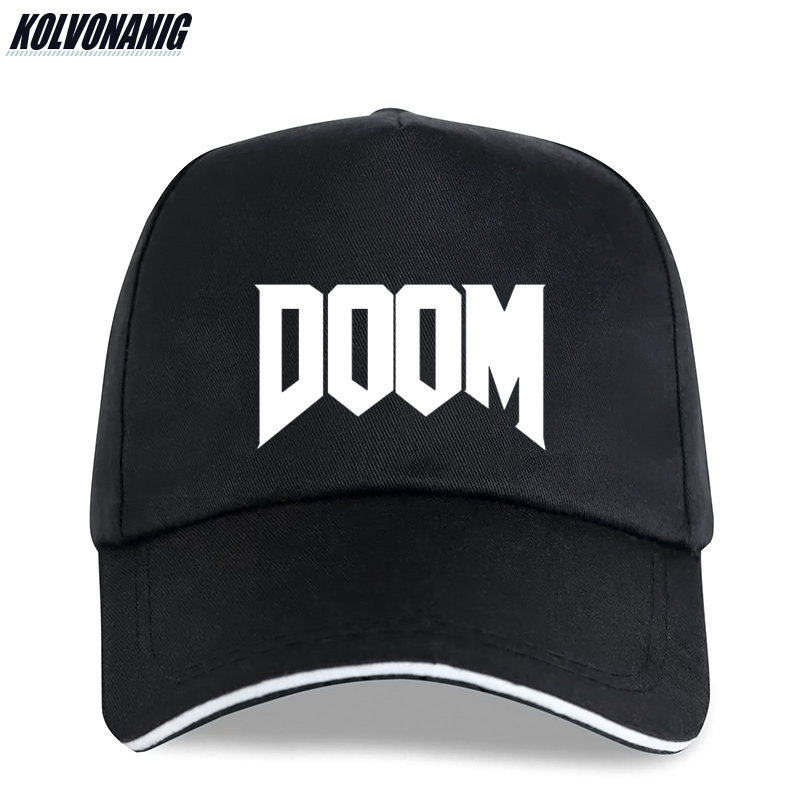 2019 Summer Fashion Doom Print Baseball Cap All Time Great Video Game Unoffical In Men Cotton Caps Adjustable Cotton Trucker Hat image
