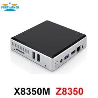 Partaker Mini PC Windows 10 Intel Atom X5 Z8350 Quad Core WiFi Bluetooth VGA HDMI 2GB RAM 32GB SSD