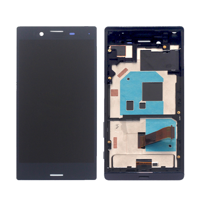 Image 2 - High quality for SONY X MINI framed LCD display digitizer assembly for Sony Xperia X Compact F5321 display accessory replacement-in Mobile Phone LCD Screens from Cellphones & Telecommunications