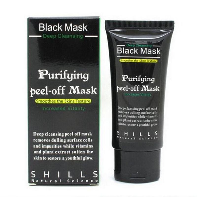 Free Shipping Shills Purifying Deep Cleansing Peel-off Black Mask