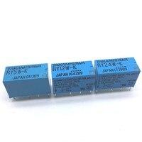 10 sztuk TAKAMISAWA RY5W-K RY12W-K RY24W-K 5/12/24V DPDT przekaźnik sygnału 8 Pin 1A