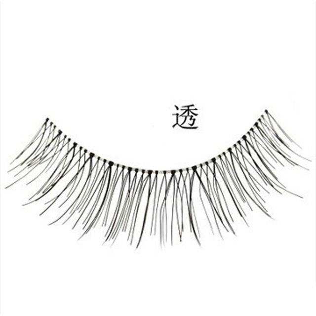 10Pair False Eyelashes Natural Reusable Sparse Cross Long Eyelashes Artificial Fake Eye Lashes Makeup Fake Eye Lashes Extensions 2