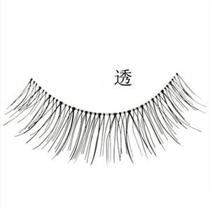 Image 3 - 10Pair sztuczne rzęsy naturalne wielokrotnego użytku rzadkie skrzyżowane długie rzęsy sztuczne sztuczne rzęsy makijaż sztuczne rzęsy przedłużki