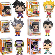 FUNKO POP Amina Dragon Ball Vegeta SUPER SAIYAN BROLY Goku FRIEZA Vinyl Action Figure Collectible Modelo Brinquedos para presente de crianças(China)