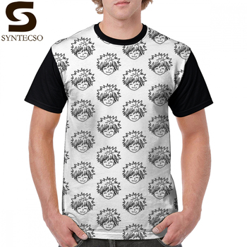 Camiseta de cazador Killua HunterXhunter, camiseta gráfica grande clásica, camiseta de manga corta para hombre, camiseta estampada impresionante 100 poliéster