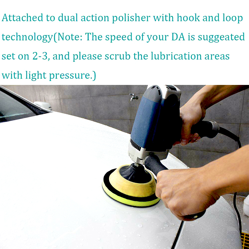 2 Pcs 6 inch Magic Clay Pad Bar Mitt Car Care Wash Cleaning Polishing Sponge Wax Applicator Car Paint Repair Auto Skin in Windscreen Wipers from Automobiles Motorcycles