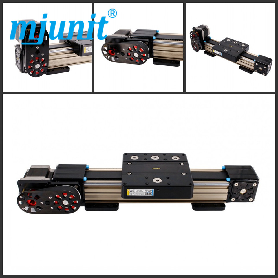 все цены на mjunit MJ80 with 2200mm stroke length Timing Pulley Reducer linear actuator linear guideway Linear Guide System онлайн