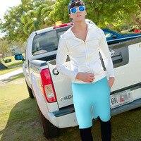 Men's UPF 50+ Longview Long Sleeve Rashguard Swim Tee Shirt Leggings Trunks Sun UV Protection Beachwear UPF50+ Surf Swim Bathing