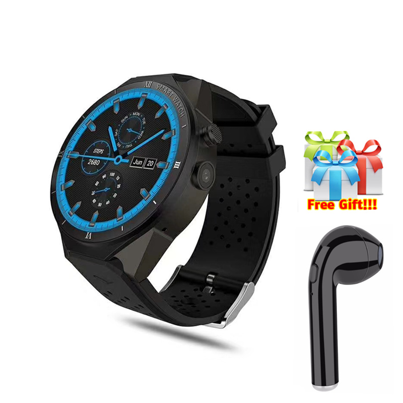 Worldwide delivery kingwear kw88 3g smartwatch phone in