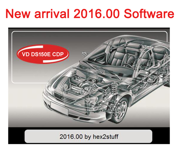 2019 VD TCS CDP PRO Plus 2016.R0/15.3 Free keygen Bluetooth vd ds150e cdp for Delphis autocoms cars trucks OBD2 Diagnostic Tool