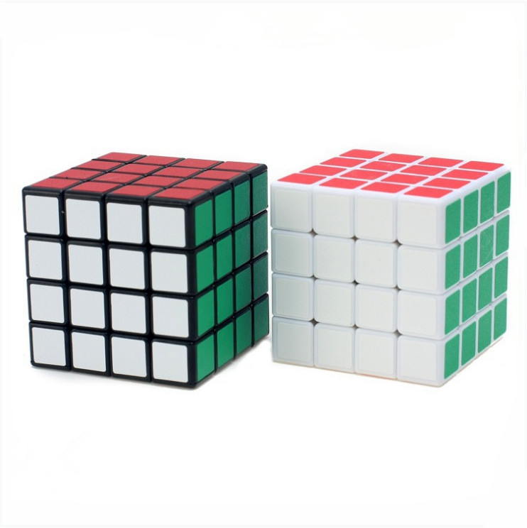 4*4*4 Professional Speed Sticker Cube Magic Educational Puzzle Cube Toys For Children Le ...