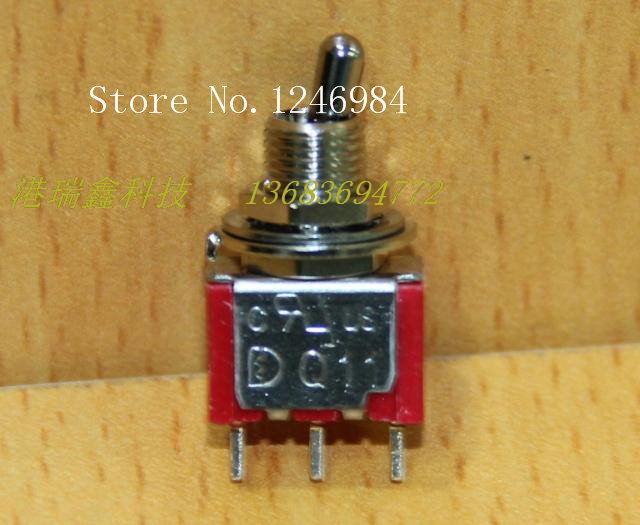 [SA]Brachypodium <font><b>T8013</b></font> single tripod two tranches M6.35 toggle switch toggle switch Q11 Taiwan Deli Wei 1MS1--100pcs/lot image