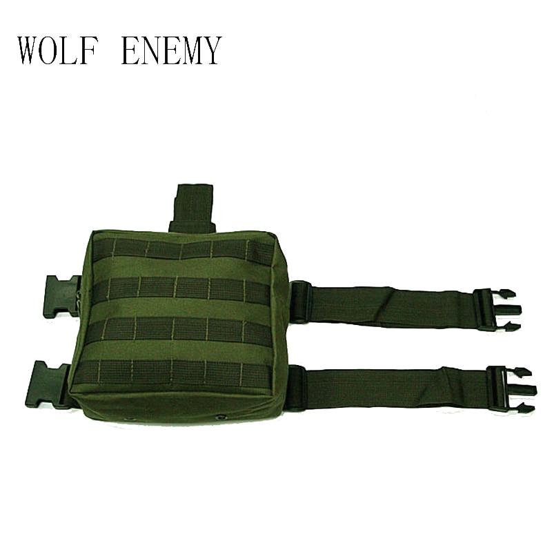 Leg Marsupio Molle black Green Utility Camo Carrier Tactical Pannello sand Army acu Bag woodland Milirary Goccia IYqxAU
