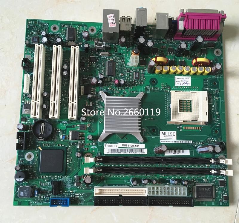 Desktop mainboard for 1100 B110 WF887 0WF887 CN-0WF887 E210882 motherboard Fully tested original for dell 0x836m x836m poweredge r510 8 bay sas riser board backplane cn 0x836m fully tested
