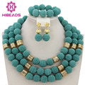 Fashion New Dubai Gold Plated Jewelry Set Bridal Jewelry Sets Statement Necklace African Beads Jewelry Set Free Shipping ABY001