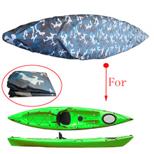 Anti-UV Waterproof Kayak Boat Canoe Storage Transport Dust Cover for Fishing Inflatable Boat Replacement