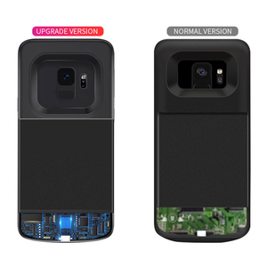 Image 3 - Battery Case For Samsung Galaxy S9 S8 Plus Battery Power Wireless Charging Powerbank Case Power Bank For Samsung Note 8 Note 9