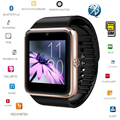 Free shipping Smart Watch GT08 Clock Sync Notifier Supports SIM Card  Bluetooth Connectivity IOS Android Phone mp3 music player