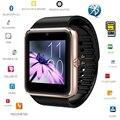 O envio gratuito de sincronização do relógio smart watch gt08 notifier suporta cartão sim conectividade bluetooth ios android telefone mp3 music player