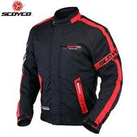 SCOYCO JK34 мотоциклетные Костюмы Защитный Гонки куртка Спорт Мотоцикл безопасности Водонепроницаемый теплая зимняя одежда гонки защитник