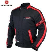 SCOYCO JK34 Motorcycle Clothing Protective Racing Jacket Sports Motorbike Safety Waterproof Warm Winter Wear Racing Protector