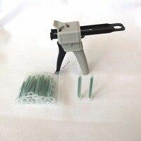 Epoxy AB Glue Manual Dispenser Gun 50ml Ratio 1 1 2 1 Versatility W Quadro Static
