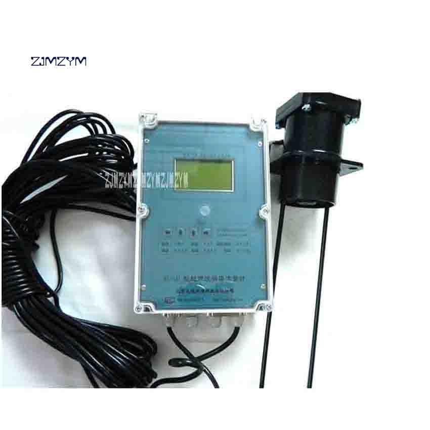 New Arrival Digital Ultrasonic Flow Meter WL-1A1 High Quality Open Channel Ultrasonic Flowmeter 220V 0.1L/s~10m/s 0~60 Degrees электронный уровень geo fennel s digit 60 wl 640010