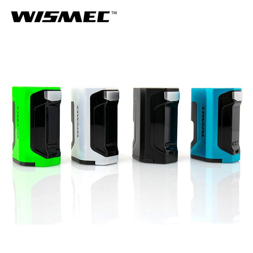 Wismec Original Luxotic DF Squonk boîte Mod 200 W sortie Mod boîte avec 7 ml squonk bouteille électronique cigarette vape mod boîte