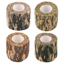 2016 New 1 Roll Men Army Adhesive Camouflage Tape Stealth Wrap Outdoor Hunting free shipping