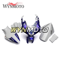 Fiberglass Racing Fairings Kit For Yamaha YZF1000 R1 Year 2004 2006 04 05 06 Injection ABS Plastics Motocycle White Blue Cover