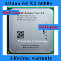 For Athlon 64 X2 6000+ 3.0GHz 2M Dual Core desktop processors PC CPU Socket AM2 940 pin 6000 Computer