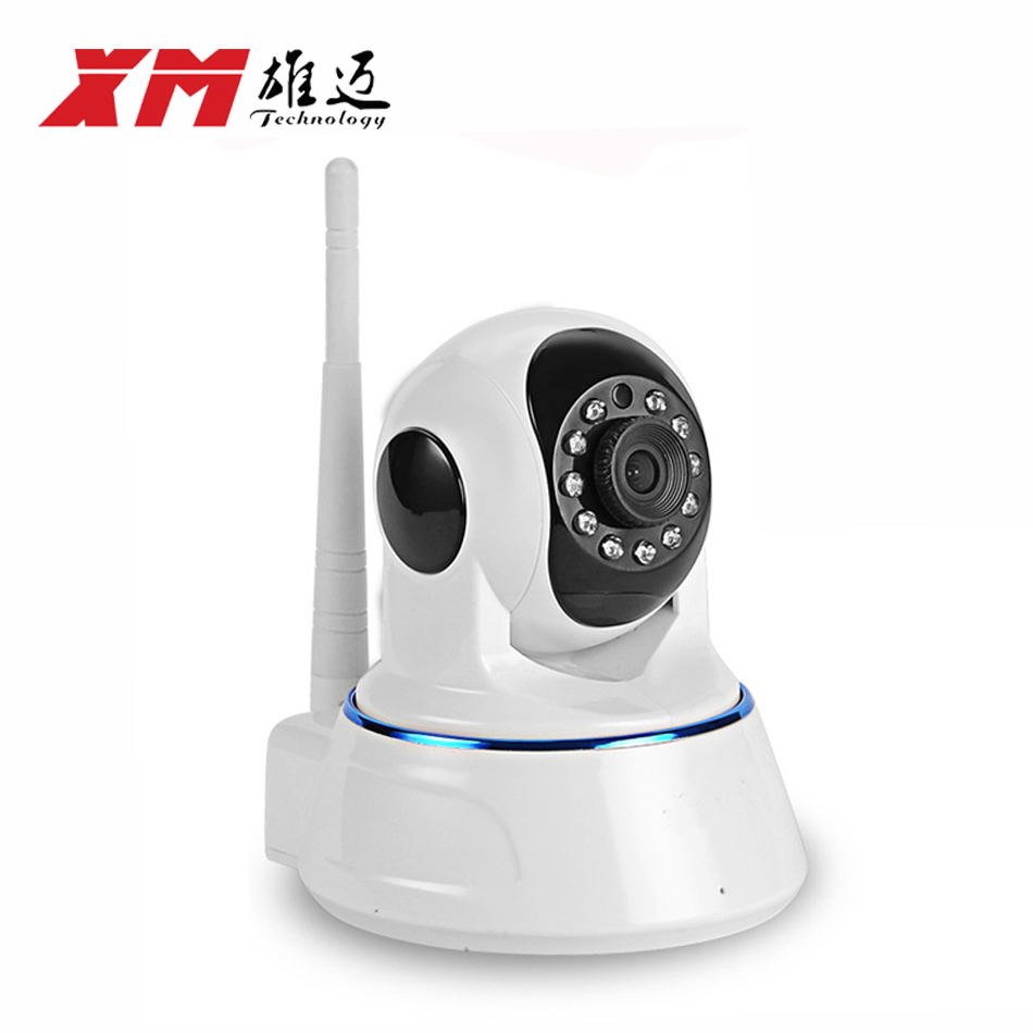 Wireless WiFi Security Camera 1MP 720P HD Pan Tilt Day Night Vision IP Network Surveillance  Baby Monitor support Two-Way Audio escam qf100 p2p ip camera 720p hd wifi wireless baby monitor pan tilt security camera onvif night vision support micro sd card