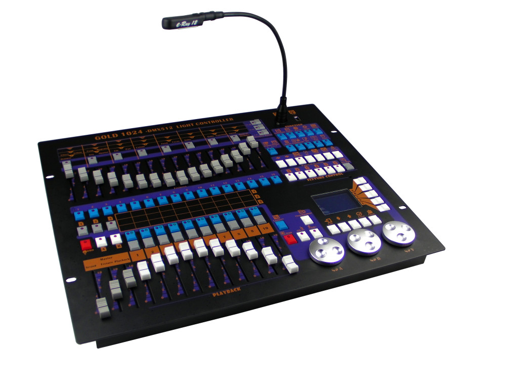 все цены на GOLD 1024;DMX controller; can control up to 96 fixtures онлайн