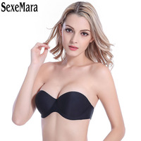 2017 New Arrival Women S Sexy Self Adhesive Magic Push Up Bra Strapless Invisible Bras Side