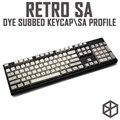 Ретро-набор ключей с пластиковой клавиатурой  плотный  ПБТ  gh60  xd60  xd84  cospad  tada68  rs96  zz96  87  104  660