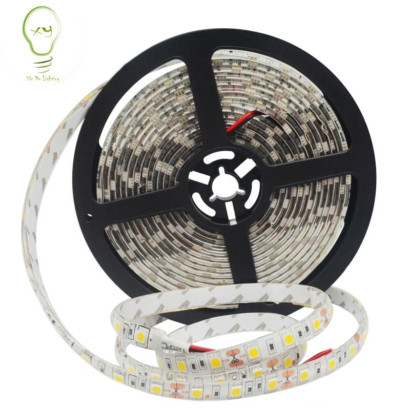 12v 1m 2m 3m 4m 5m Led Strip Light Lamp Smd 3528 5050