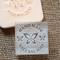Nicole Natural Handmade Soap Seal Stamp Acrylic Mold Chapter