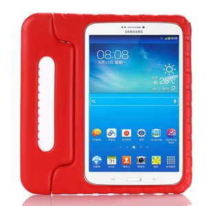 Image 3 - Case for Samsung Galaxy Tab E 9.6 T560 T561 hand held full body Kids Children Safe Silicone for SM T560 tablet cover