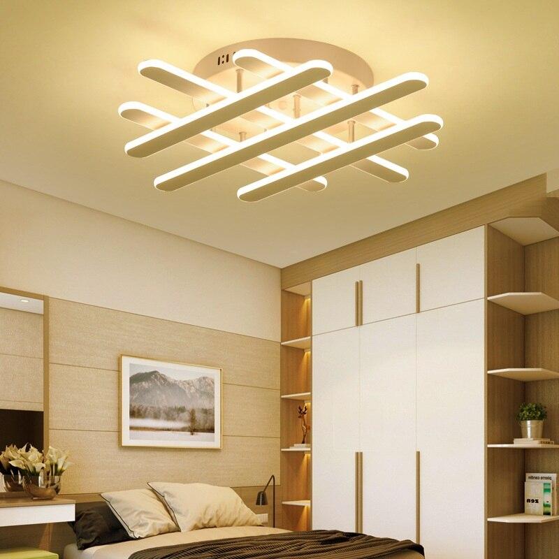 Minimalist Study Room: Strip Minimalist LED Ceiling Lamp Living Room Bedroom
