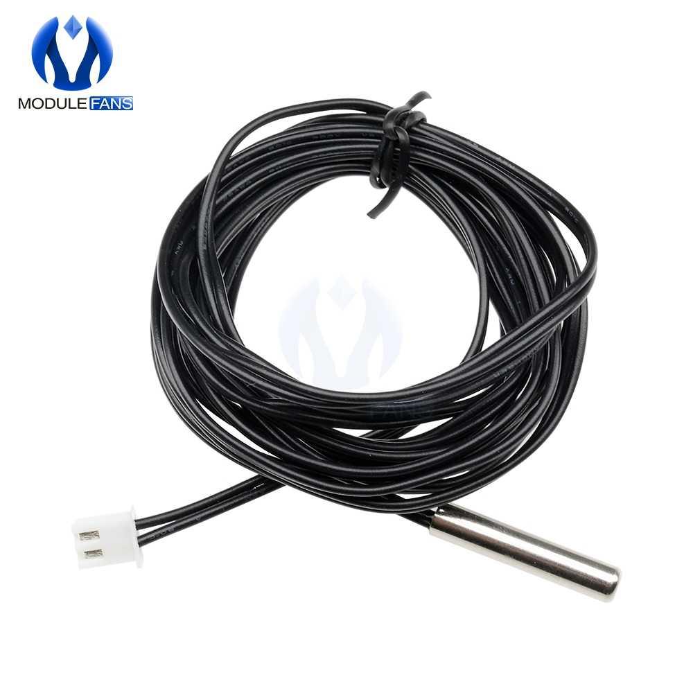 W1209 0.3m 0.5m 1m 2m 3m étanche NTC thermistance précision capteur de température 10K 1% 3950 fil câble sonde pour Arduino W1401