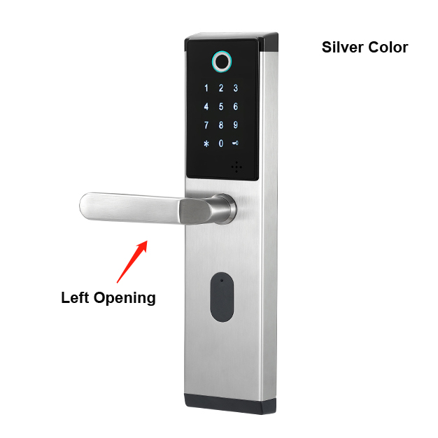 Silver-Left opening