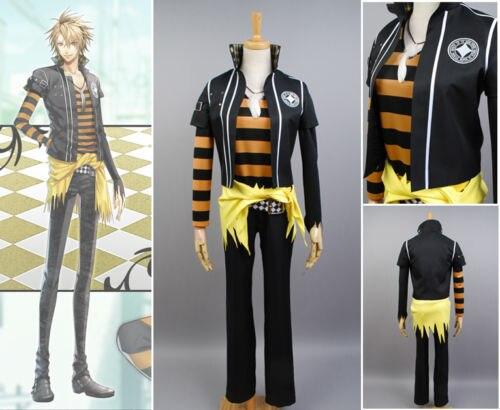 Amnesia TOMA Uniform Anime Cosplay Costume Halloween For Men
