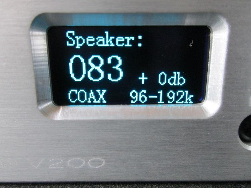2019 neue ICH. BIN. D V200 Volle Digitale Audio Verstärker 150W * 2 XMOS U208 USB 24Bit/192KHz Eingang USB/ optische/Koaxial/AUX OLED Display