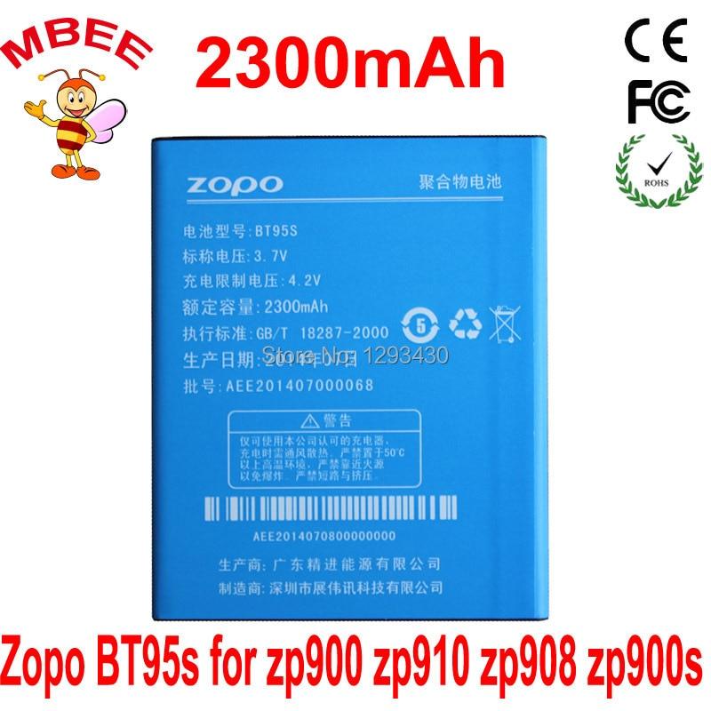 H9500 G36 Bateria Akku Pil Mobile Phone Parts Original Zopo Bt95s Rechargeable 2300mah Battery For Zp900 Zp910 Zp908 Zp900s Zp900h Hero H9300 Cellphones & Telecommunications