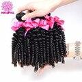 Индийский Вьющиеся Волосы Девственницы 4 Связки Afro Kinky Человеческих Волос связки Afro Kinky Вьющиеся Волосы Девственницы Индийские вьющиеся Волосы Курчавые Bodhitree