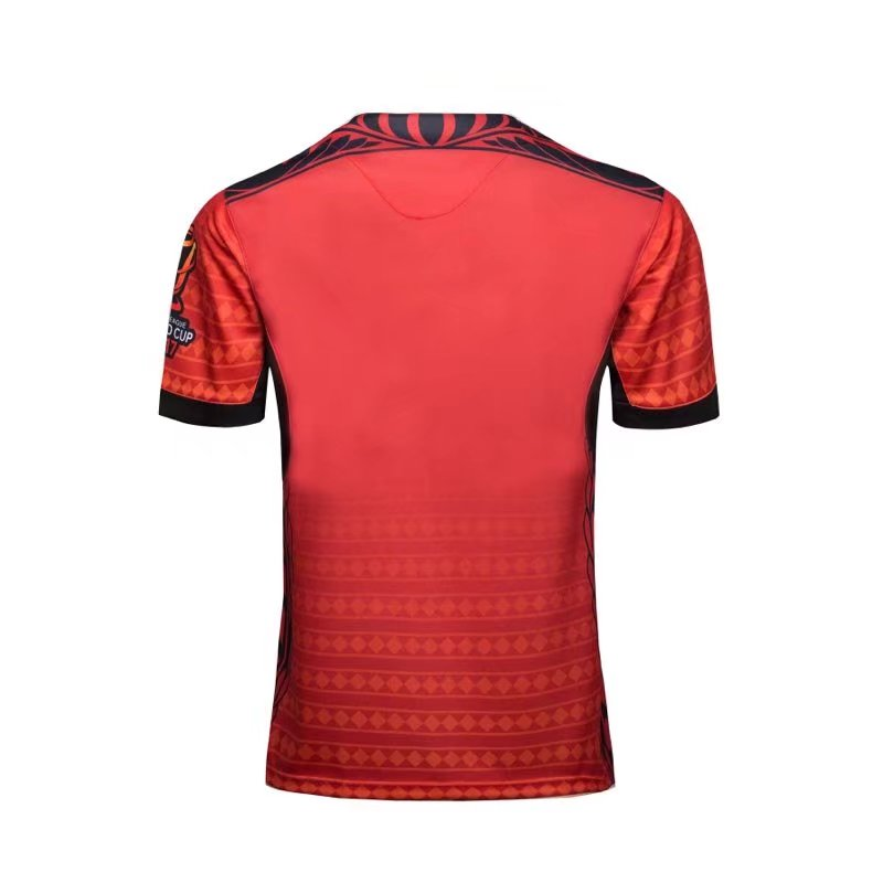 c62ee934fde BEST DEAL ~ TONGA JERSEY de RUGBY TONGA JERSEY 2018 nuevo 2019 WC rugby  camisetas de alta calidad Tonga rugby rojo nuevo rugby tamaño s-3XL