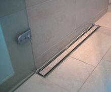 90 см » tile insert » из нержавеющей стали этаж душевая слив wetroom линейный вертикальный дренаж