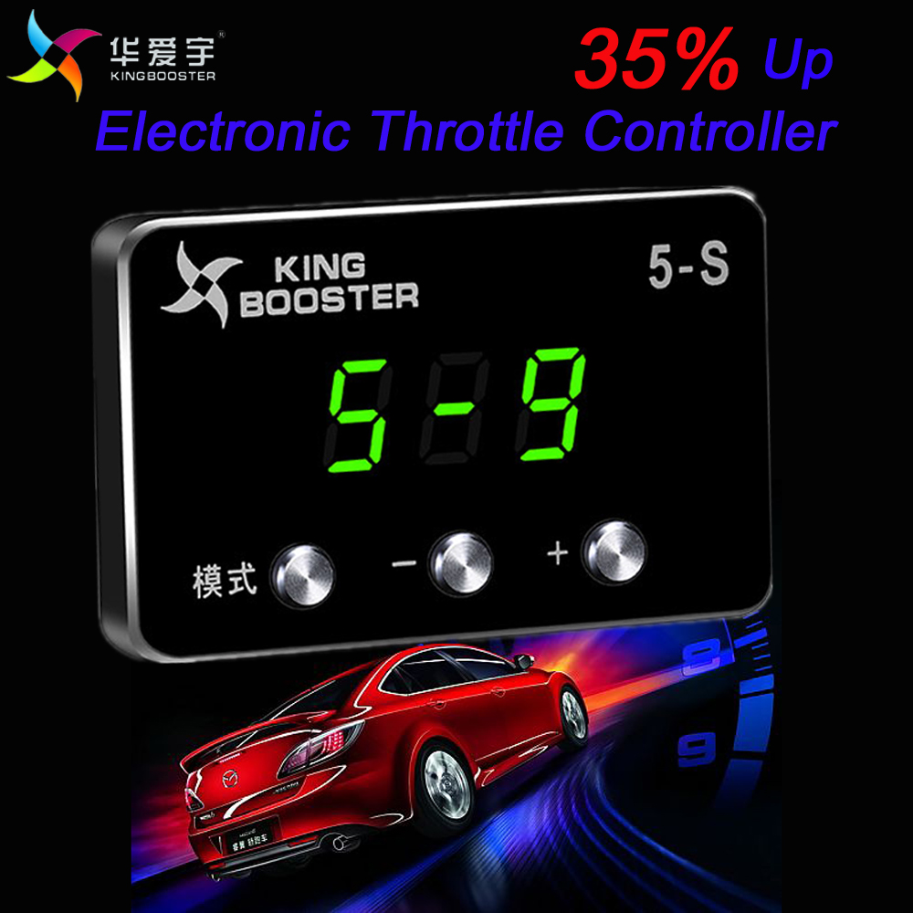 Original port power Sprint Booster fuel saving Automobile Electronic Throttle Controller For PEUGEOT 508 ALL ENGINES 2011+