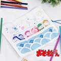 SIX SAME FACES Konya wa Saikou Mr.Osomatsu San ED Pen Buggy Bag Pencil Case Cos Gift Customized